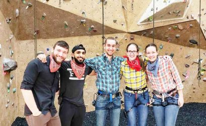Indoor rock climbing for fitness benefits in Chicago