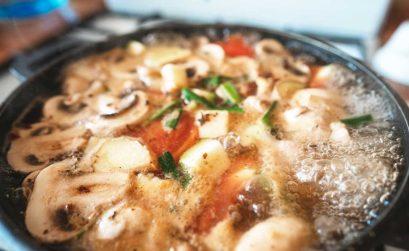 Healthy Mushroom Soup Recipe With Barley & Leek