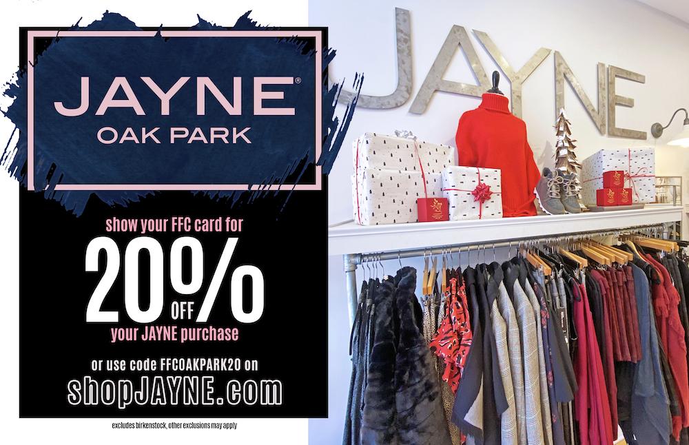 20% Off Flyer At ShopJayne.com