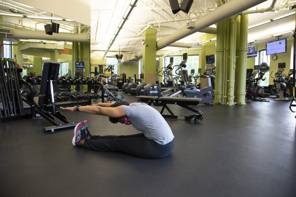Joy Miles Performing The Roll Up - Core Workout For Beginners